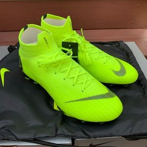 NEW Nike Mercurial Superfly 6 Elite FG Volt Black